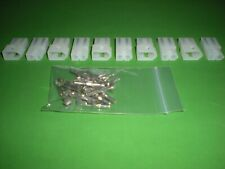 2 Pin Molex Connector Kit 5 Sets With18 22 Awg 093 Pins Free Hanging 0093