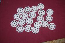 J Lego Lot 20 White 2 x 2 Modified Plate w// Octagonal Bar Frame 30033 4957 7093