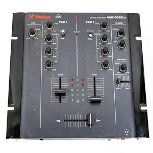 Vestax VMC-002XLu 2-Channel USB DJ Mixer Mixing Controller - AS IS