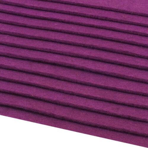 12 FOGLI FELTRO 2-3 MM SPESSO DIN A4 20x30 cm 416 G//M² MOLTI COLORI