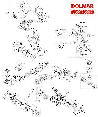 AV  Puffer Vibrations Schwingungsdämpfer passend für Dolmar PS 43 PS 52