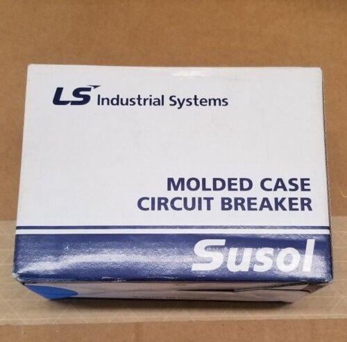 NIB LSIS Susol Molded Case Circuit Breaker TD125NU 600V 50A 3 pole