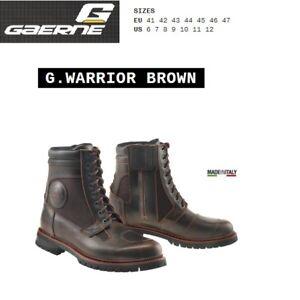 Stivali CAFE' RACER moto GAERNE G.WARRIOR brown marrone