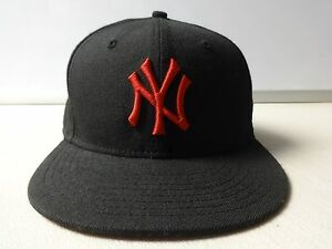 f8aceca78d3 Vintage MLB New York Yankees 59 50 Fitted Wool Ball Cap Mens 7 1 2 ...