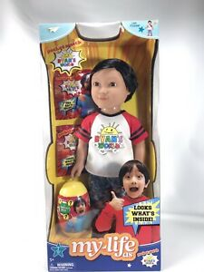 """18/"""" Ryans World Doll with Large Mystery Surprise Egg /& Blind Bags Surprise Set"""