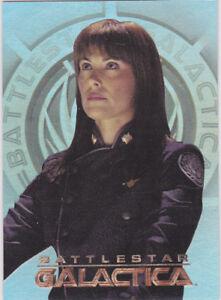 BATTLESTAR GALACTICA SEASON 2 WOMEN OF INSERT W6 MICHELLE ... Michelle Forbes Battlestar Galactica