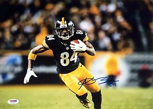 cbf3612887d Image is loading Antonio-Brown-Pittsburgh-Steelers-Signed-11x14-photo-PSA-
