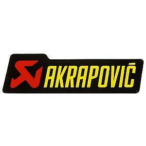Akrapovic P-HST1AL Logo Sticker 200x60mm   eBay