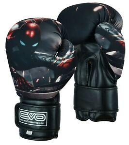 EVO-Kids-Boxing-Gloves-Junior-MMA-Punch-Bag-Mitts-Muay-Thai-Sparring-Training