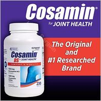 Free Worldwide Shipping Cosamin Ds Joint Health 230 Capsules Sealed