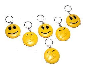 6-pz-led-lampada-tascabile-portachiavi-PORTACHIAVI-HAPPY-SMILE-FACE-CULTO