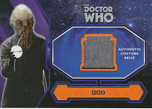 Topps-2015-Doctor-Who-Ood-Alien-Costume-Relic-Trading-Card