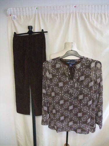 pantaloni donna Camicia Estate Poliestere 7780 trasparente da e Camicetta Xs Abbigliamento marrone 5Xgwq0x