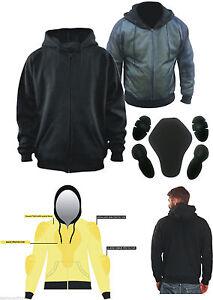 Mens-Motorcycle-Hoodie-Fully-Reinforced-DuPont-KEVLAR-Armid-Fibre-CE-Armoure