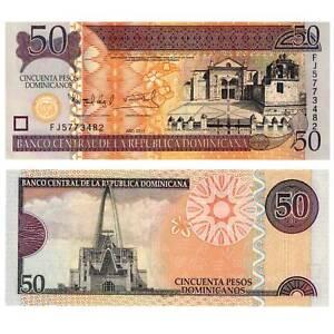 Dominican Repub 50 Pesos 2011 Pick 183b Unc./1516587## To Prevent And Cure Diseases Symbol Of The Brand Dominikanische Republik Karibik Münzen