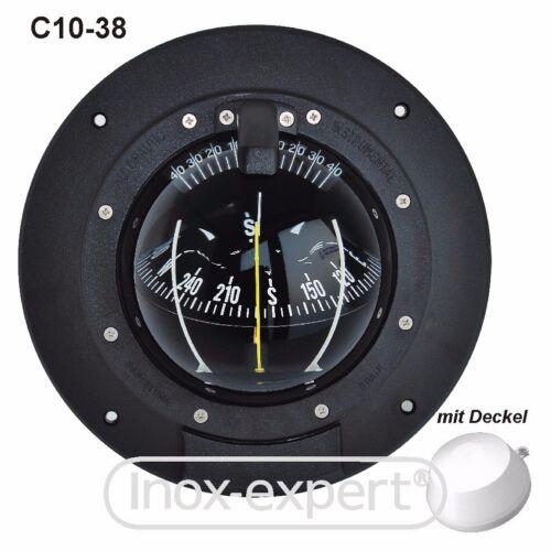 Bootskompass mit Kompass-Rose 100 mm Kugelkompass Schotkompass Schiffskompass