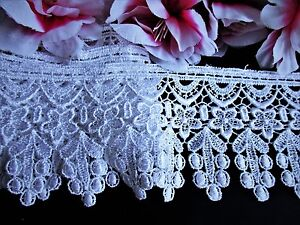 selling by the yard Beautiful white Venise Lace Trim