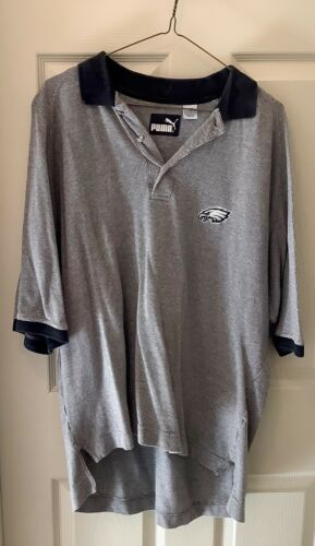 Vintage Puma Men's Philadelphia Eagles Polo Shirt