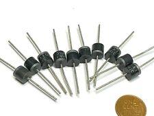 10pcs 6A10 6A 1000V 1KV 6 Amp Axial Rectifier Diode