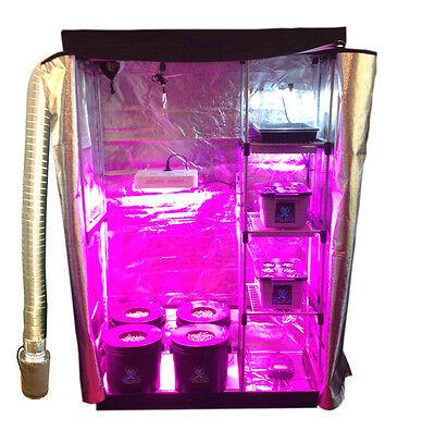 Hydroponic Nursery & Grow Room - Complete Grow Kit - Grow Tent - LED Grow System