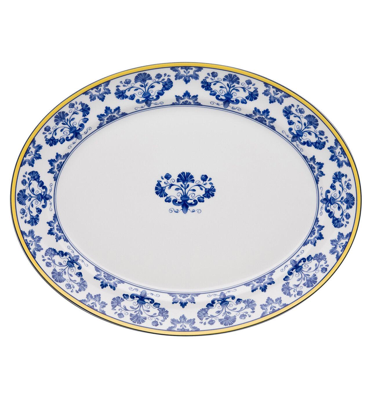 Vista Alegre Castelo Branco Mittelgroß Oval Platte - 2er Set | Online Outlet Shop