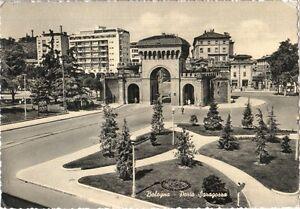 BOLOGNA-PORTA-SARAGOZZA-ED-CARTOVENDITA-BOLOGNA-1956