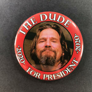 """Dave Chapelle For President 2.25/"""" Button Pin Comedian 2020"""