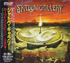 "SHADOW GALLERY ""Carved In Stone"" CD Japan w/obi Apollon International APCY-8236"
