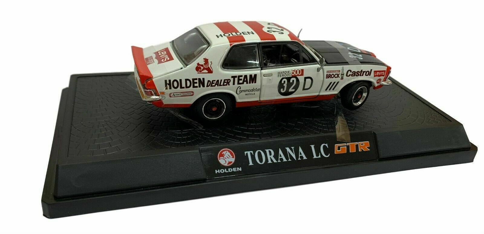 NEW OZLEGENDS Holden Torana LC GTR XU1 Diecast Model Car 1 32 Brock 32D Racing