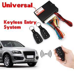 Car-Auto-Remote-Central-Kit-Door-Lock-Locking-Vehicle-Keyless-Entry-System