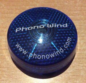 Blauer-blinkender-Clip-von-Phono-Wind-ca-5-cm-Durchmesser