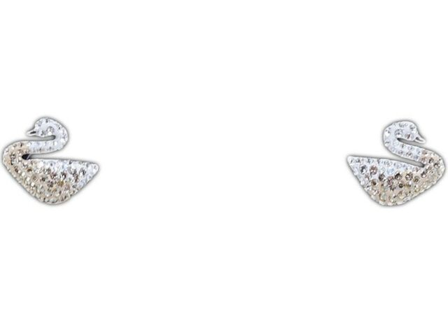 1e04f6ca5 Swarovski Crystal Iconic Swan Pierced Earrings 5215037 for sale ...