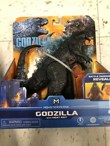 Godzilla Vs Kong Monsterverse Godzilla W Heat Ray Playmates New Hard To Find 43377353027 Ebay