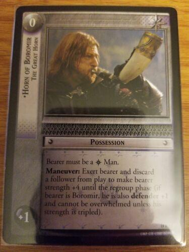 Lord of the Rings TCG Treachery Deceit 18R53 Horn of Boromir The Great Horn LOTR