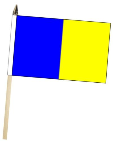 Ireland Tipperary County Gaelic Games Colours Large Hand Waving Courtesy Flag