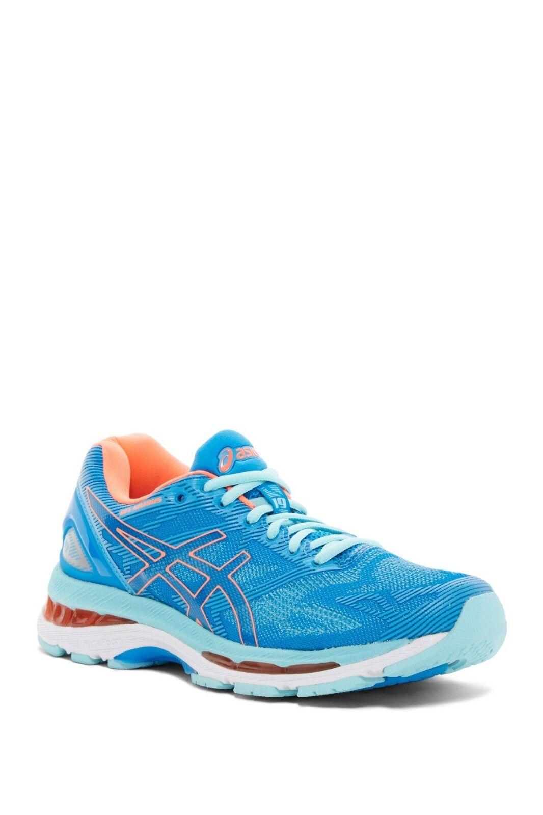 NWT ASICS GEL-Nimbus 19 Trail Running Sneaker blueE-CORAL WOMENS Sz 5 5 5 6