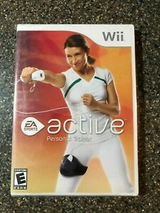 EA-Sports-Active-Personal-Trainer-Nintendo-Wii-2009-New-Sealed-Free-Ship