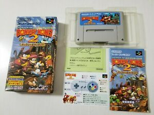 Nintendo Super Famicom Super Donkey Kong Country 2 Japan 0329A4