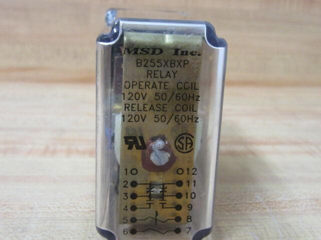 MSD INC B255XCXP RELAY-USED