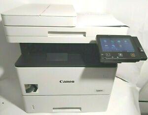 CANON i-SENSYS MF525x STAMPANTE LASER usb rete MULTIFUNZIONE fax copia touch