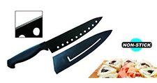 "Ewei's HomeWares 8"" Non-Stick Sushi Chef's Knife With Sheath, Black, Advantage,"