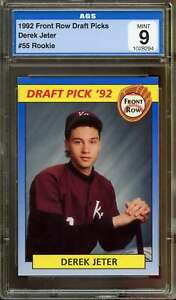 Derek-Jeter-Rookie-Card-1992-Front-Row-Draft-Picks-55-AGS-9