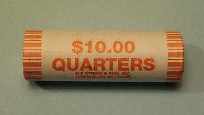 String /& Son Wrapper. 2006 D Nebraska State Quarter BU Unc Bank Roll H.F