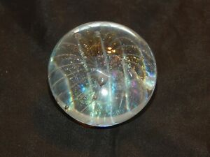 Signed Ray Anderson Round Art Glass Marble