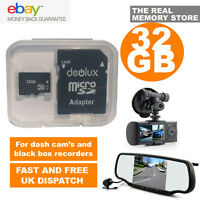 32GB TF Flash Micro SD SDHC Class10 Memory Card for Dash Cam In Car OnCar Camera