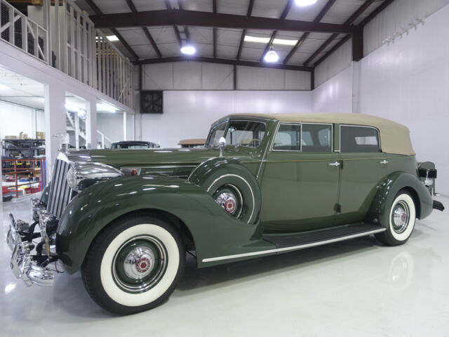 1939 Packard Model 1708 Twelve Convertible Sedan | 34,701 actual miles!
