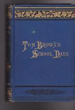 Tom Brown's School Days 1885 T Hughes MacMillan & Co