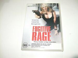 Fugitive-Rage-DVD-Free-Postage-Wendy-Schumacher-Shauna-O-039-Brian