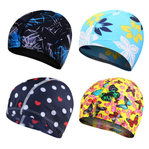 Summer Men Women Silicone Long Hair Waterproof Pool Swim Hat Swimming Cap 2019