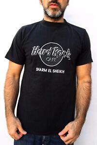 Egypt Mens Hard T El 80s Cafe Sheikh Rock Sharm Shirt Vintage Black TKclFJ1